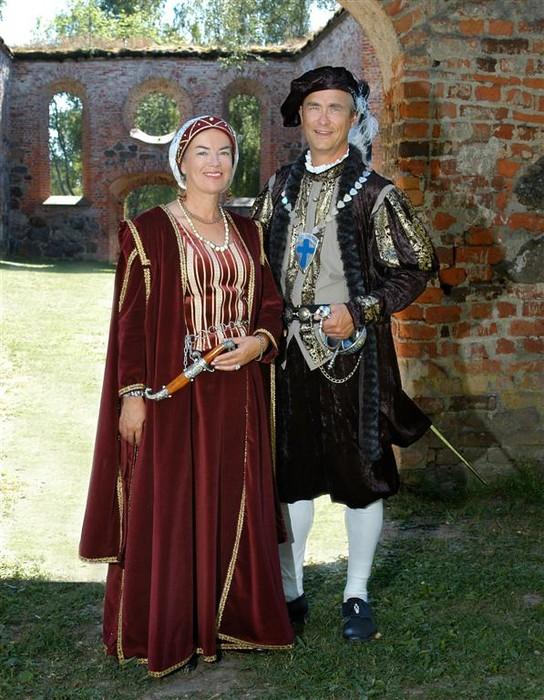 Karin Sandqvist.Jan-Erik Elfving.Karl IX, Kristina av Holstein-Gottorp