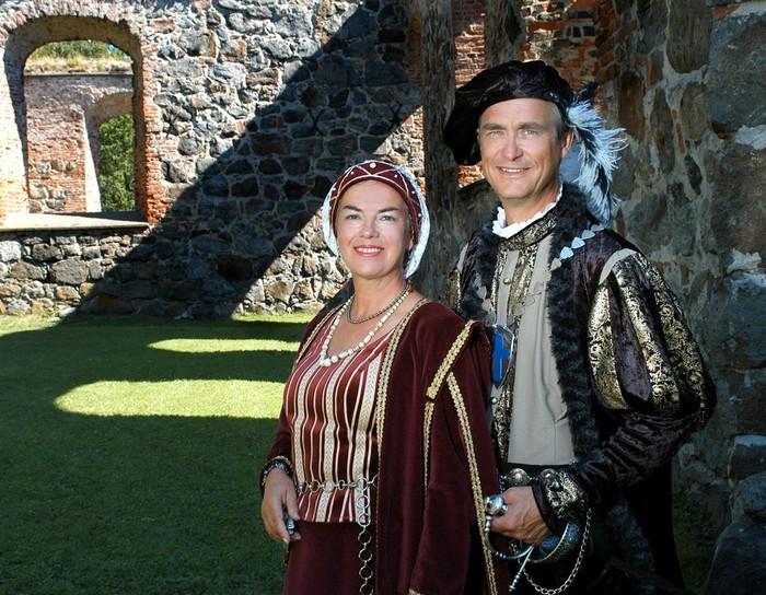 Karin Sandqvist.Jan-Erik Elfving.Karl IX, Kristina av Holstein-Gottorp.